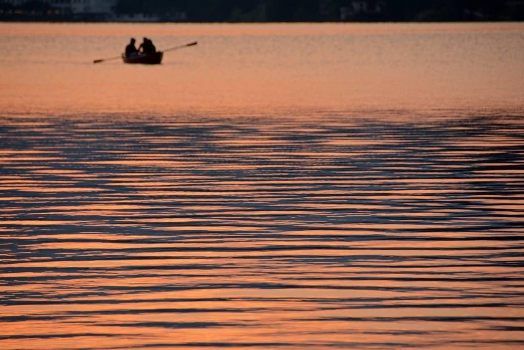 Lake Bled Sunrise Rowboat