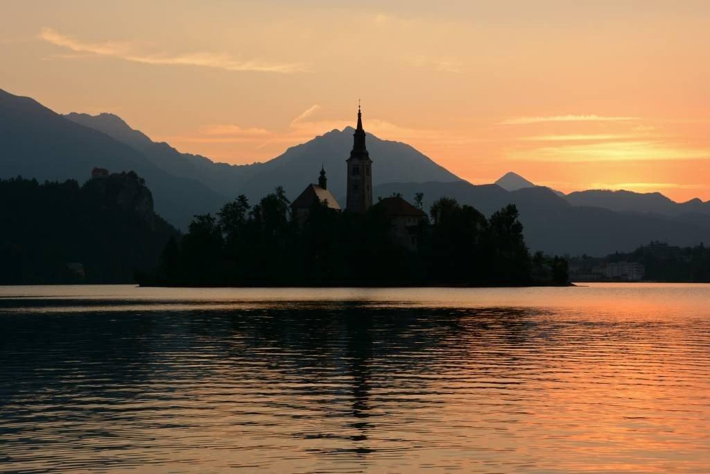 Lake Bled Sunrise