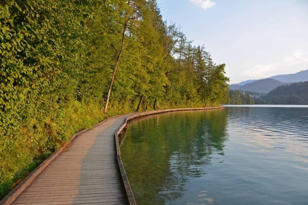 Lake Bled Boardwalk