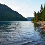 A Relaxing Evening at Lake Crescent