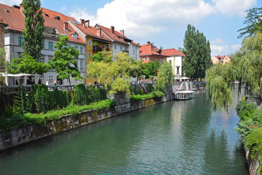 Ljubljanica River Ljubljana