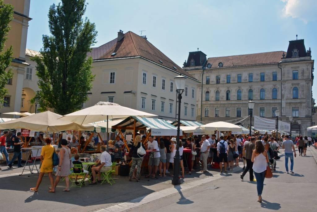 Open Kitchen Market Ljubljana