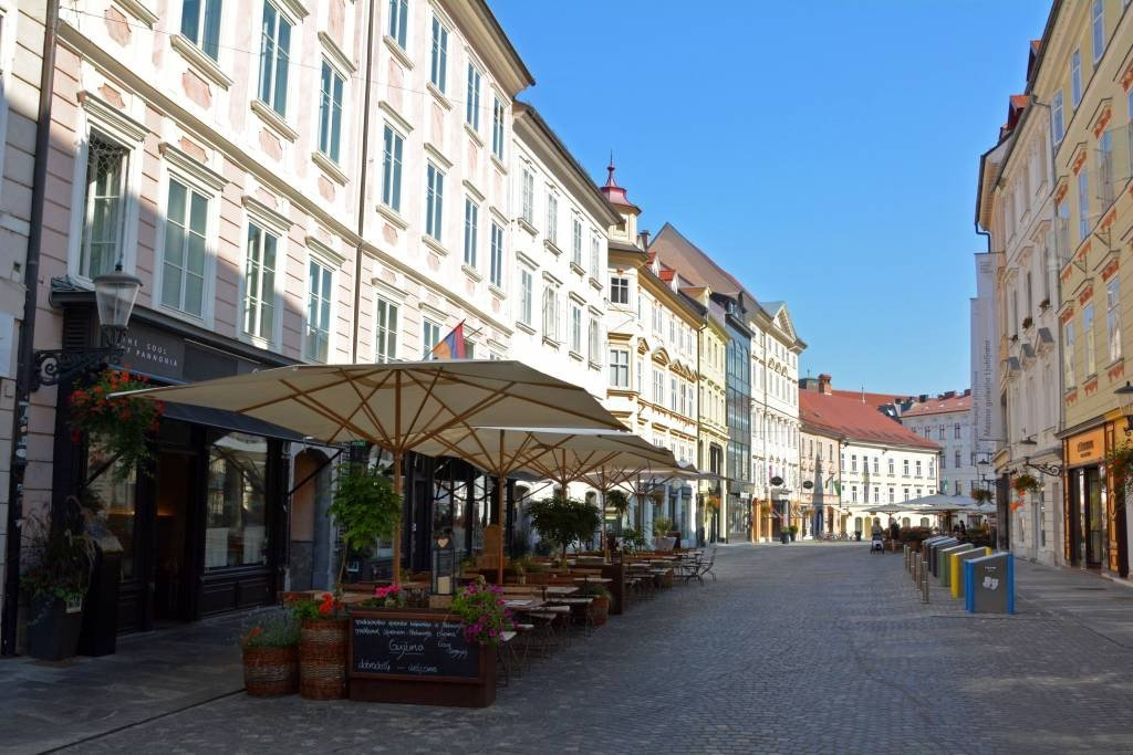 Dining in Ljubljana