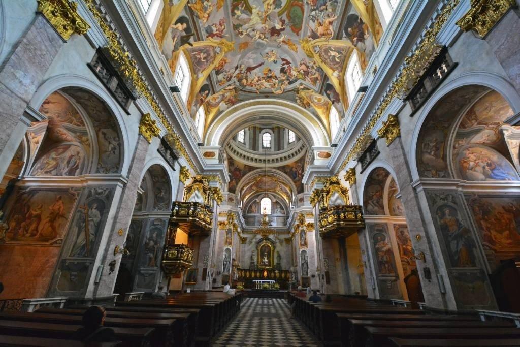 Ljubljana Cathedral Interior