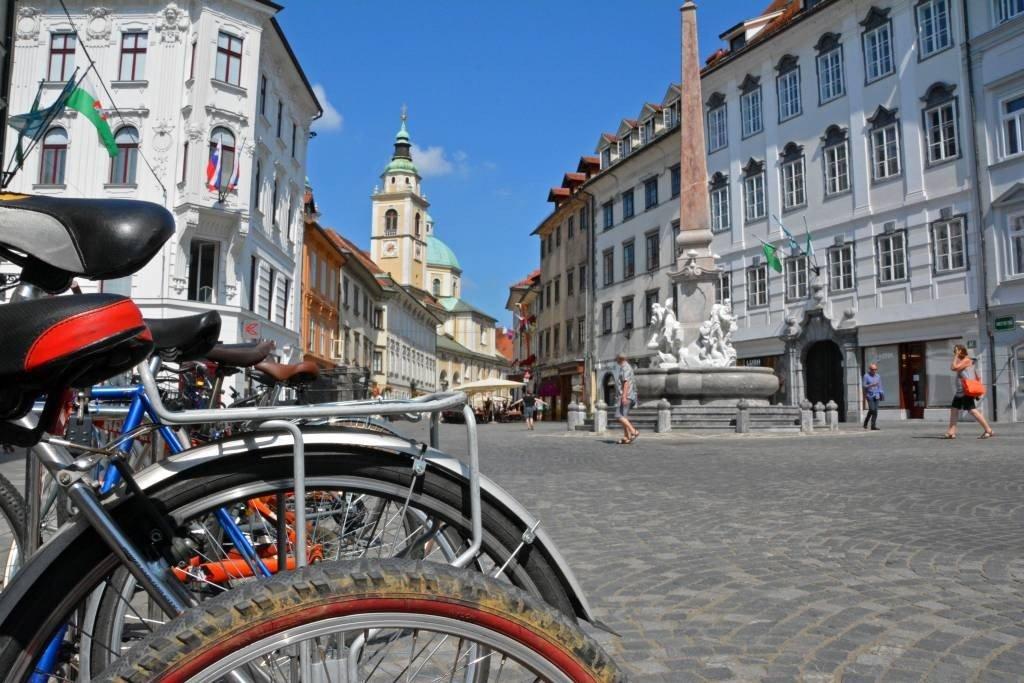 Rent bikes in Ljubljana