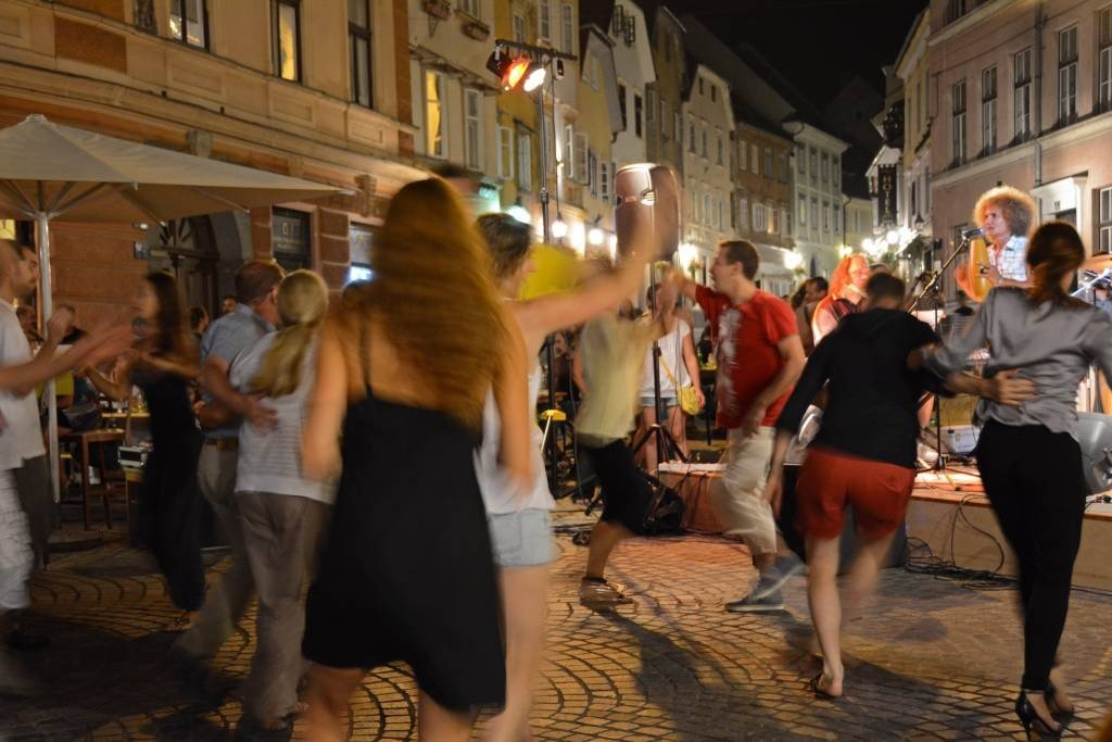 Salsa Dancing in Ljubljana
