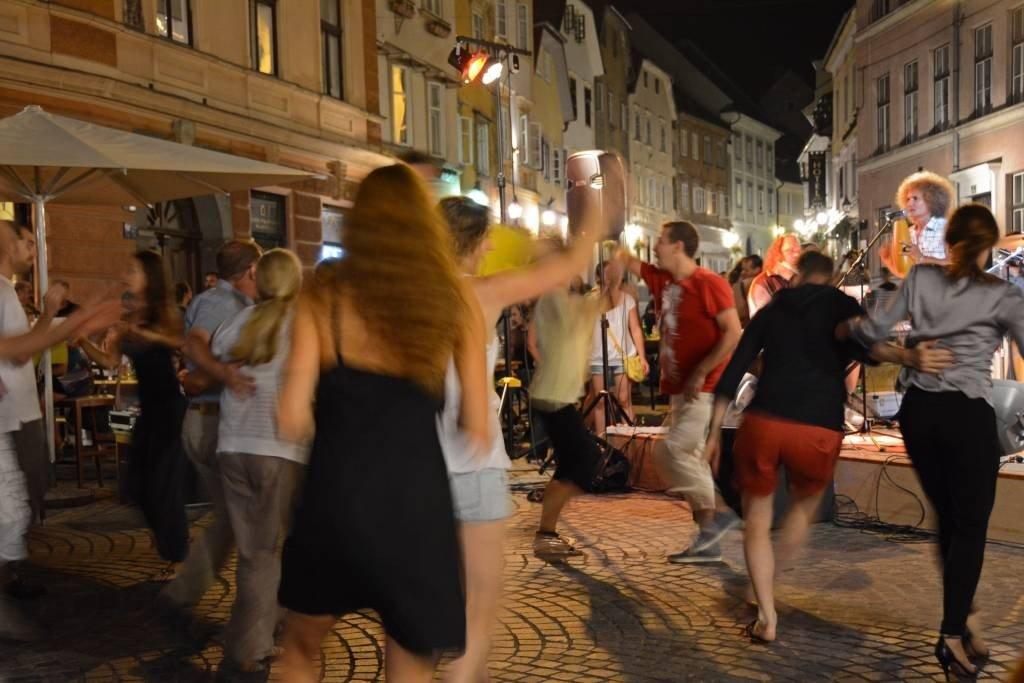 Salsa Dancing in Ljubljana