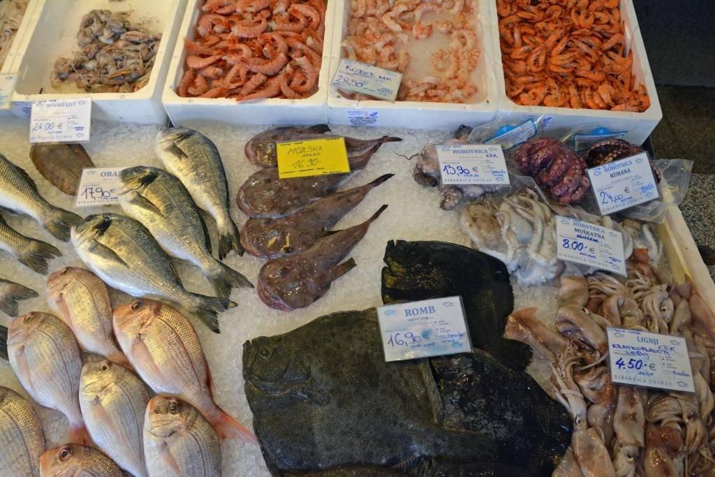 Ljubljana Ribarnica Fish Market