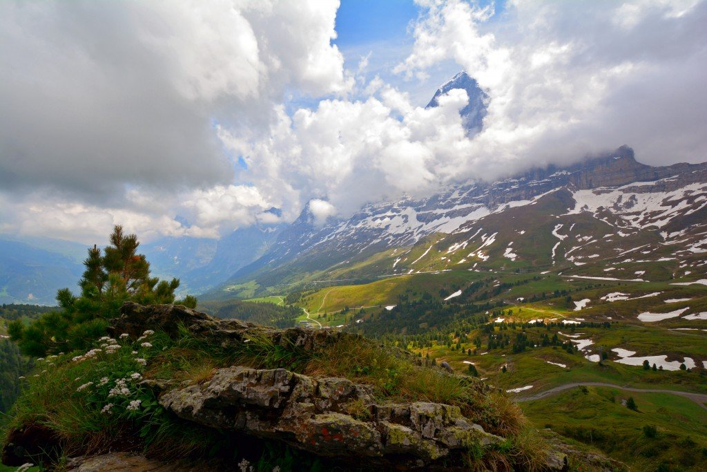 Mannlichen Jungfrau Swiss Alps