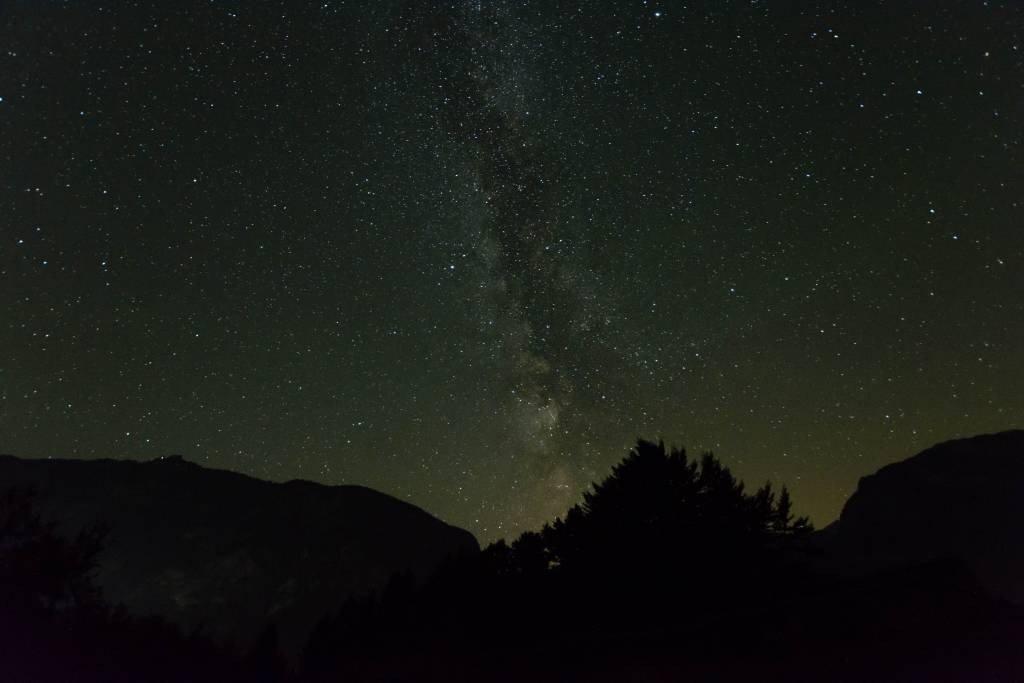 Milky Way at Lake Bohinj