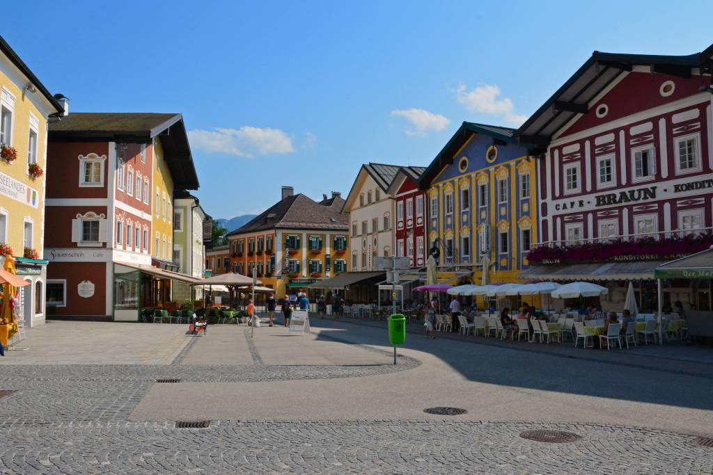 Mondsee Austria main square