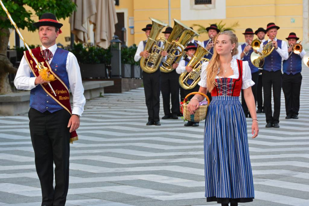 Austrian traditional band