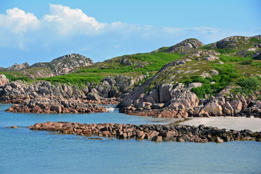 Isle of Mull rocky shore