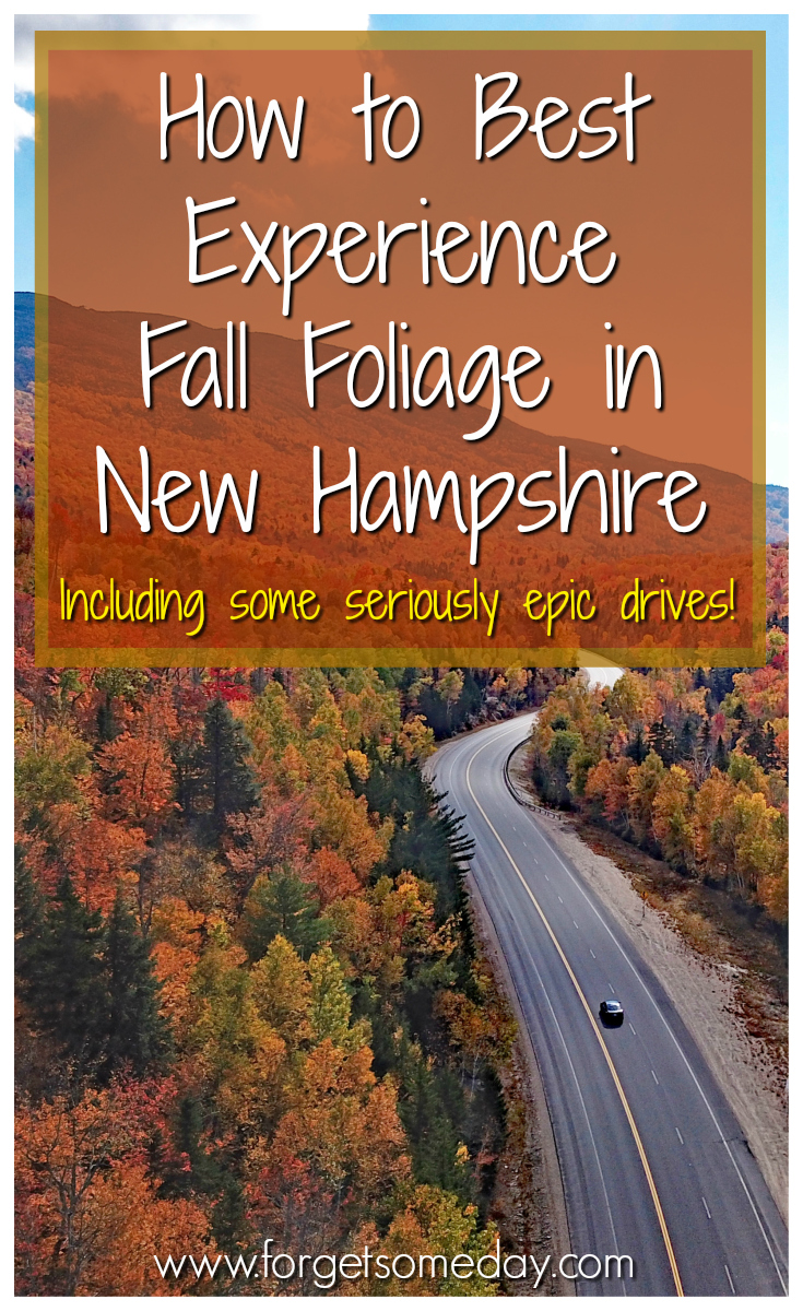 Learn more about the best ways to experience New Hampshire fall foliage, including scenic drives, train rides, cablecar rides to mountaintops, & more! #NH #newhampshire #fall #fallfoliage #fallcolors #fallinnewengland #newengland