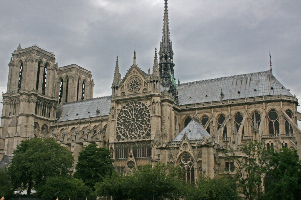 Did You Know That It Took Over 182 Years To Build The Notre Dame Bishop Maurice De Sully Started Construction In 1163 And Was 1345 Before Cathedral