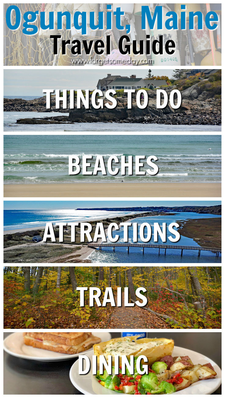 Plan your visit to Ogunquit Maine with this helpful guide! Discover beaches, trails, restaurants, attractions, nearby towns, and many more things to do in Ogunquit Maine. #ogunquit #maine #mainething #newengland