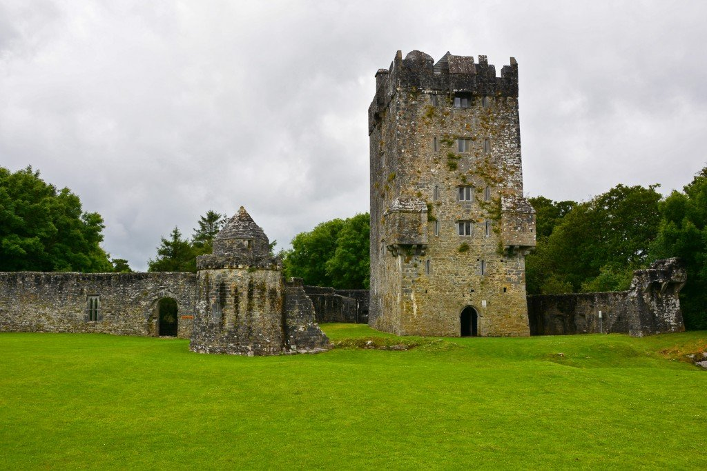 Aughnanure castle tower