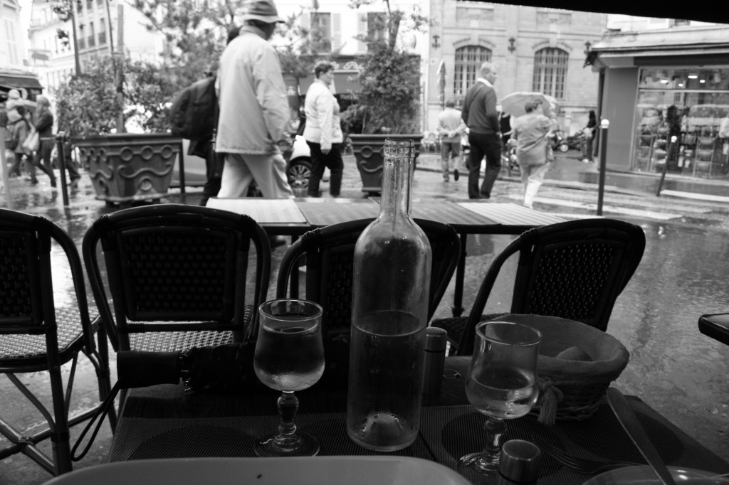 Sidewalk Cafe Paris