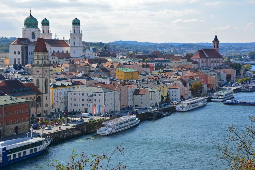 Passau on the Danube River