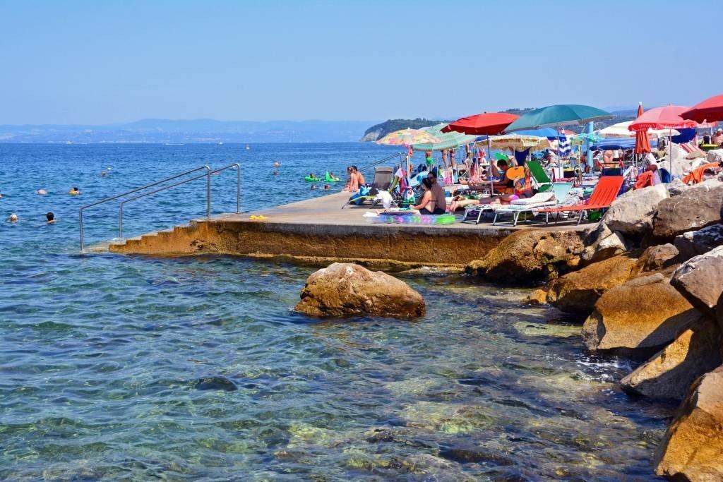Adriatic Sea in Piran Slovenia