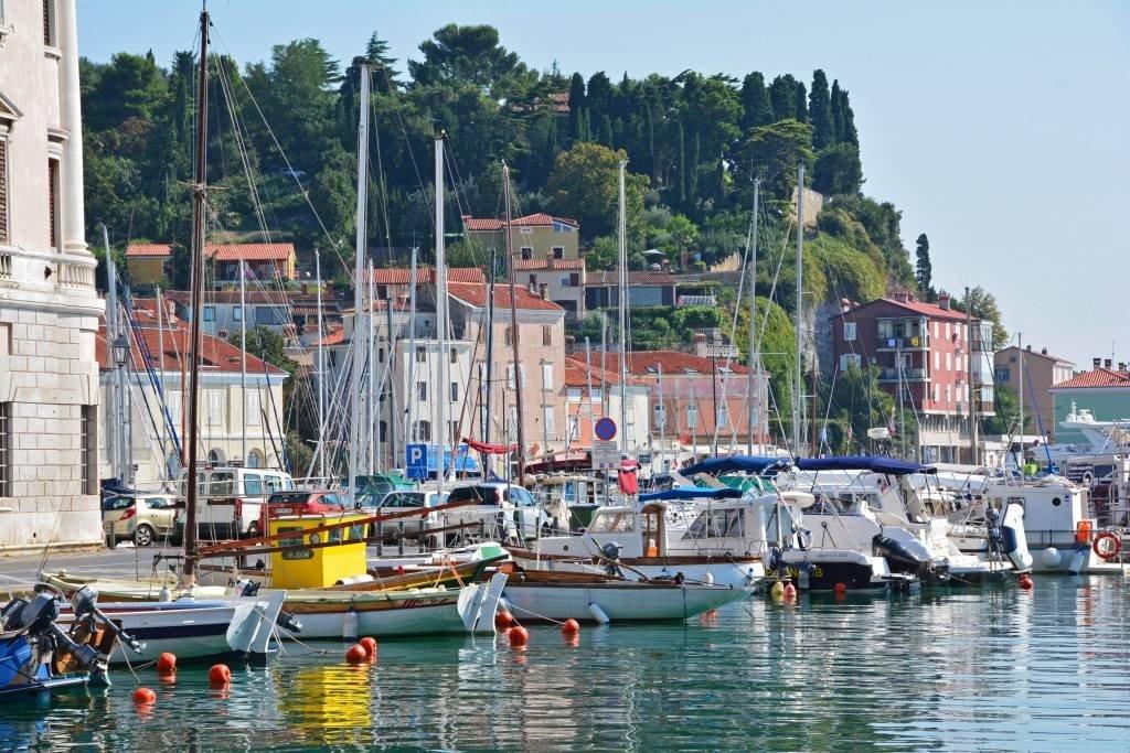 Boats in Piran Slovenia