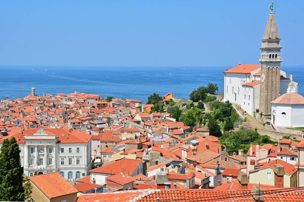 Piran Slovenia A Coastal Town Along The Adriatic Forget
