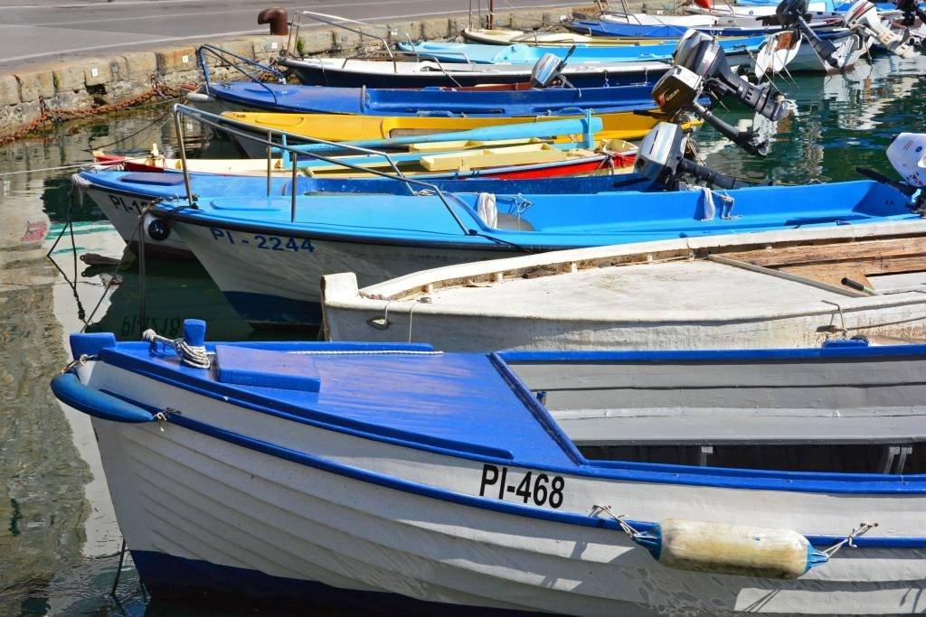 Boats in Prian Slovenia