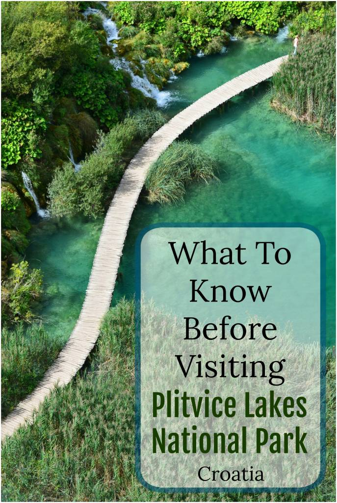 Planning on visiting Plitvice Lakes National Park in Croatia? Learn how to get there, opening hours, tickets, best time to visit, and how to avoid crowds! #Plitvice #PlitviceNationalPark #PlitviceNP #PlitviceLakes #Croatia #CroatiaTravel #CroatiaWaterfalls
