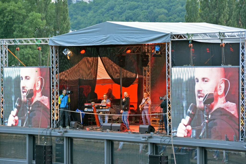 Prague Music concert on a boat