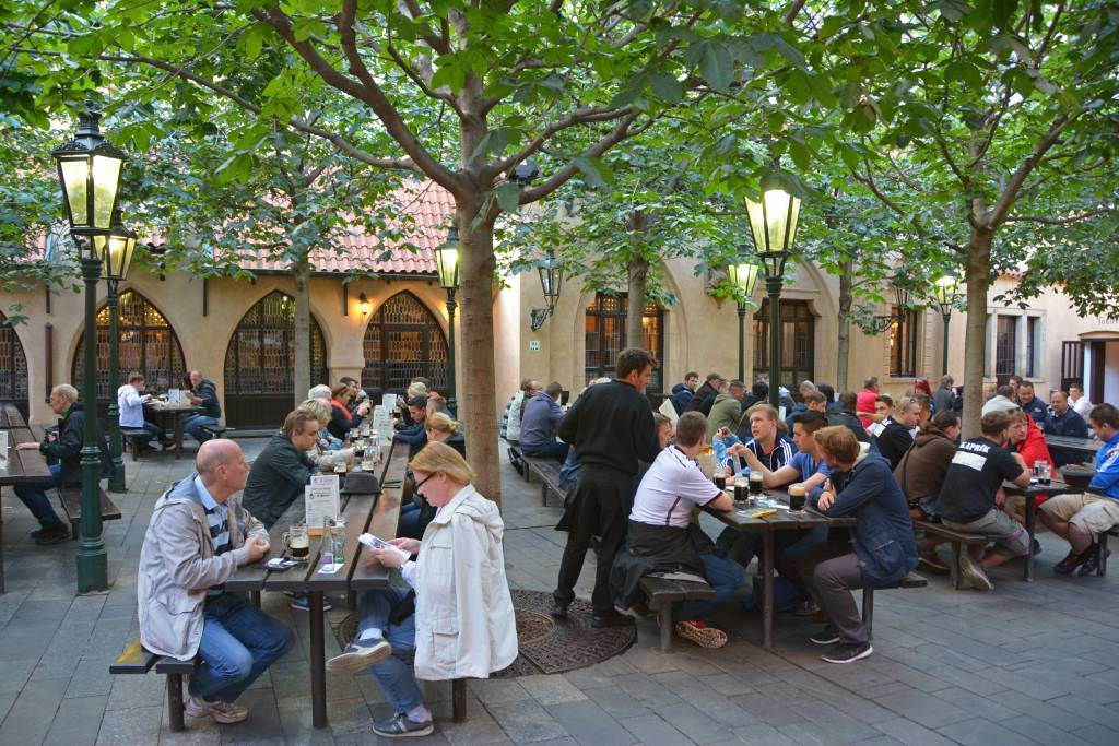 Beer Garden Prague - U Fleku