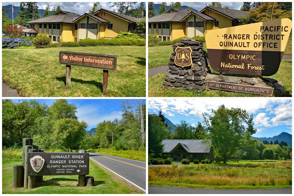 Quinault Ranger Station
