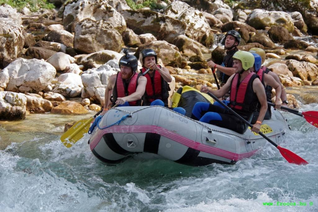 Whitewater Rafting in Bovec Slovenia
