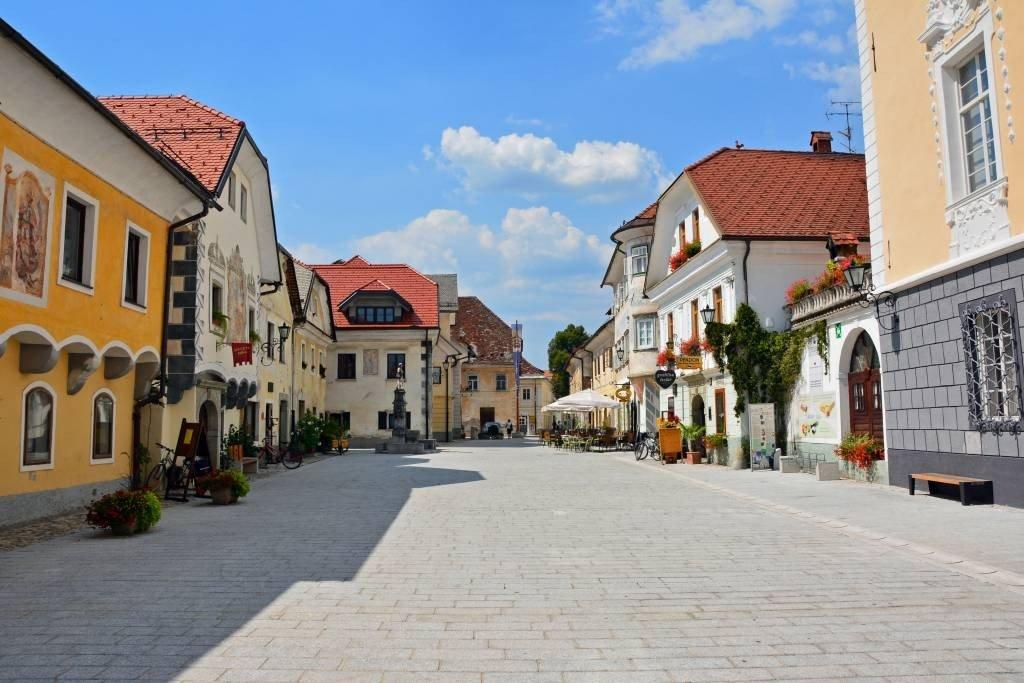Radovljica Old Town Square