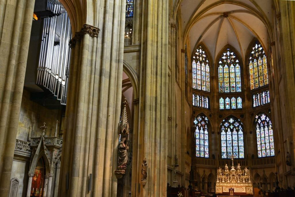 Regensburg Cathedral Gothic Architecture