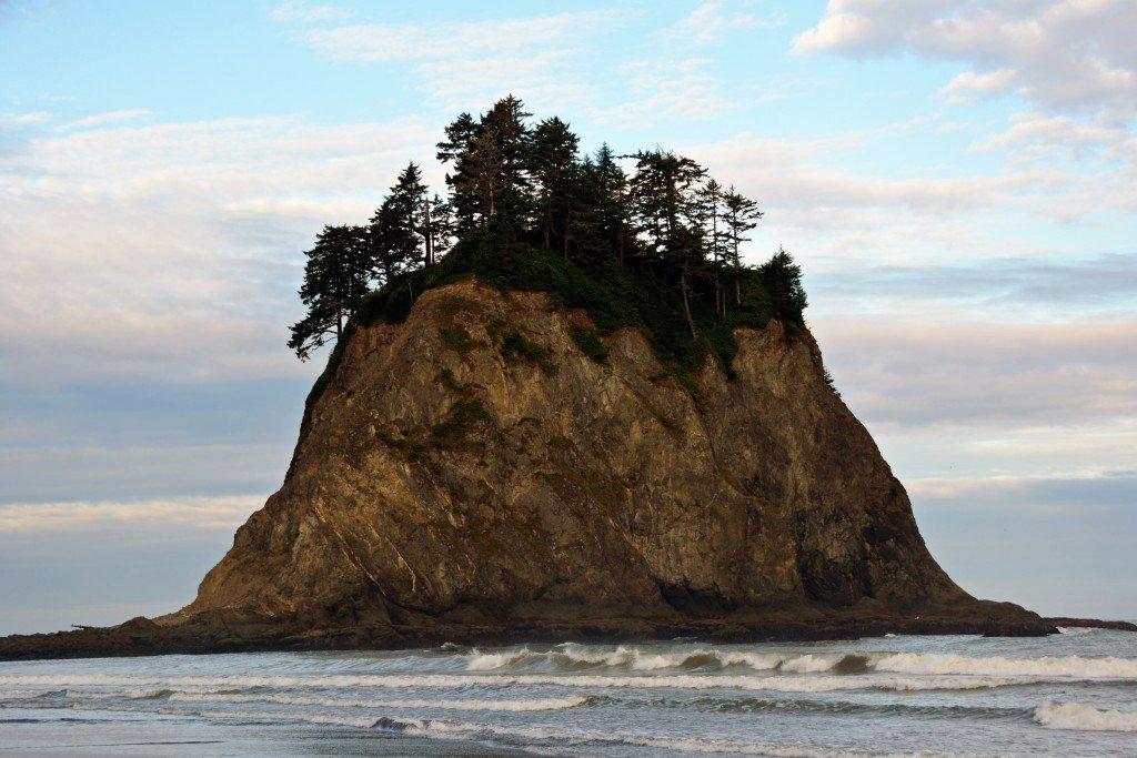 Sea Stack Rialto Beach Olympic Peninsula Washington