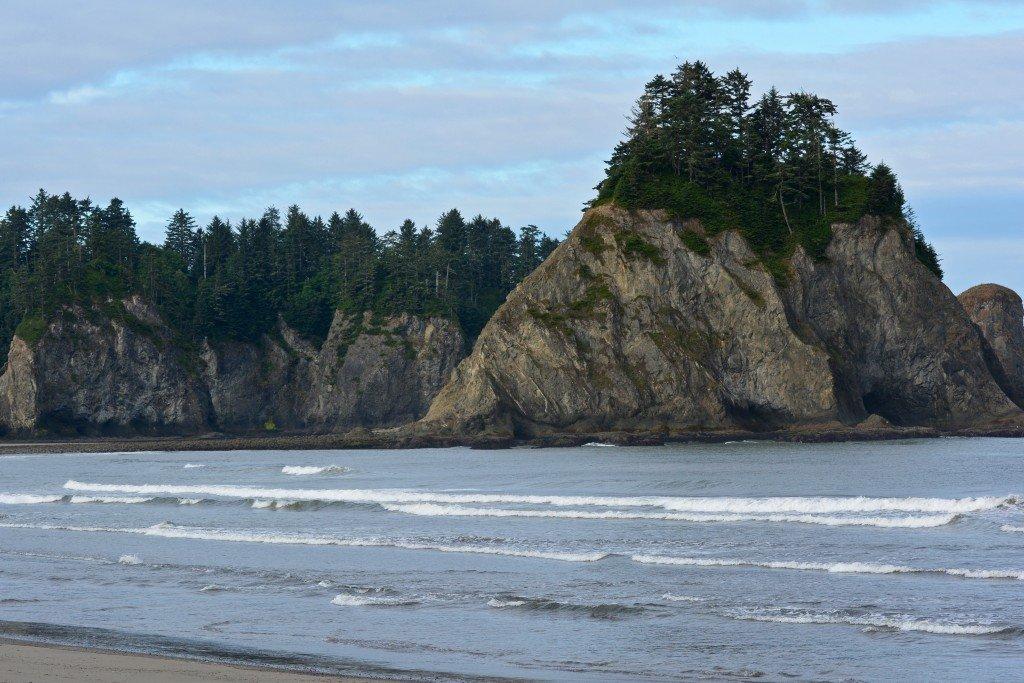Sea Stacks Rialto Beach Olympic Peninsula Washington