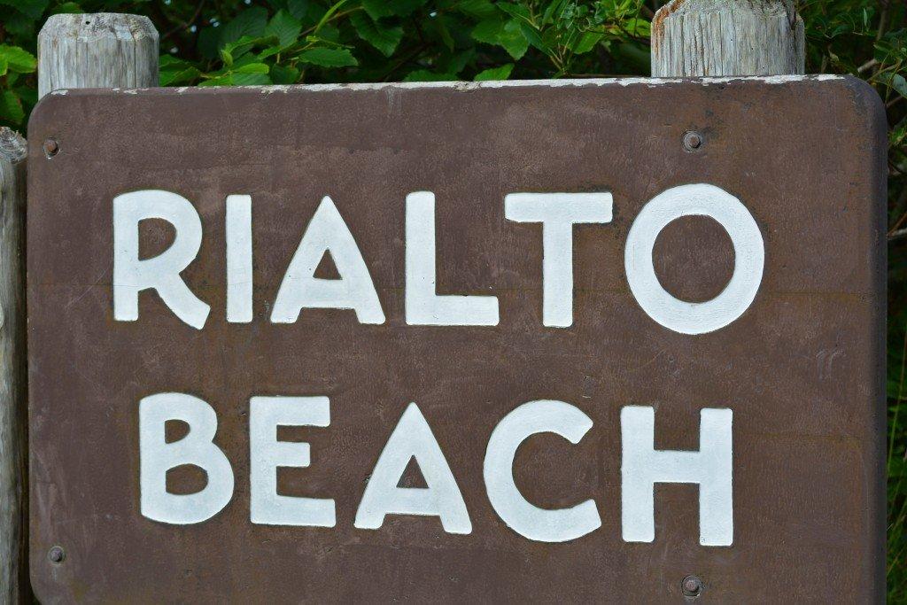 Rialto Beach Olympic Peninsula Washington