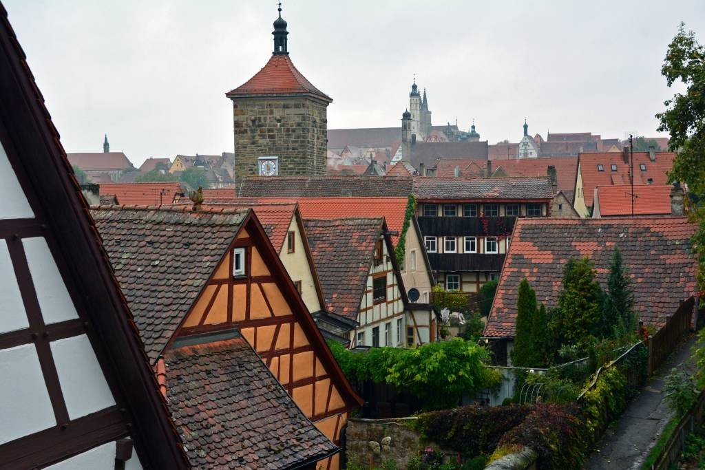 Rothenburg ob der Tauber City Wall