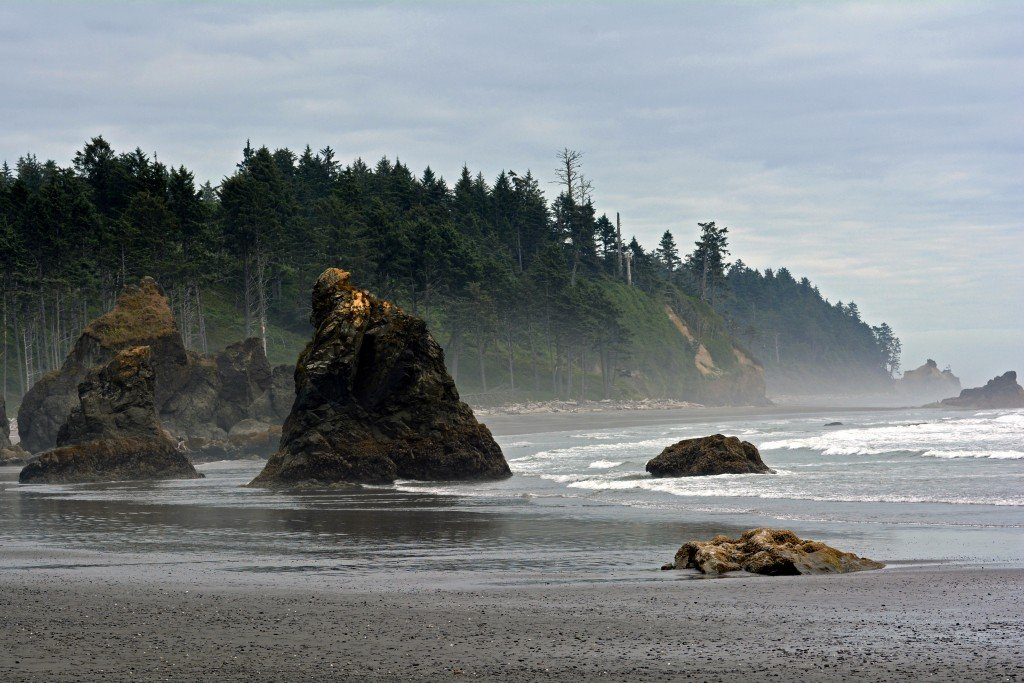 Ruby Beach Olympic Peninsula Washington