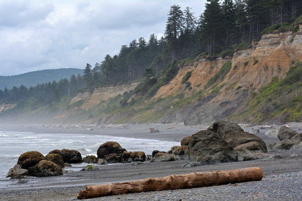 Ruby Beach Olympic Peninsula Washington