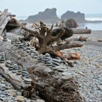 Ruby Beach: Sea Stacks and Stacked Rocks