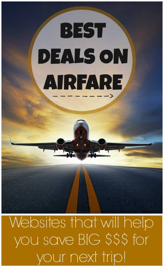 Save Money Best Deals on Airfare