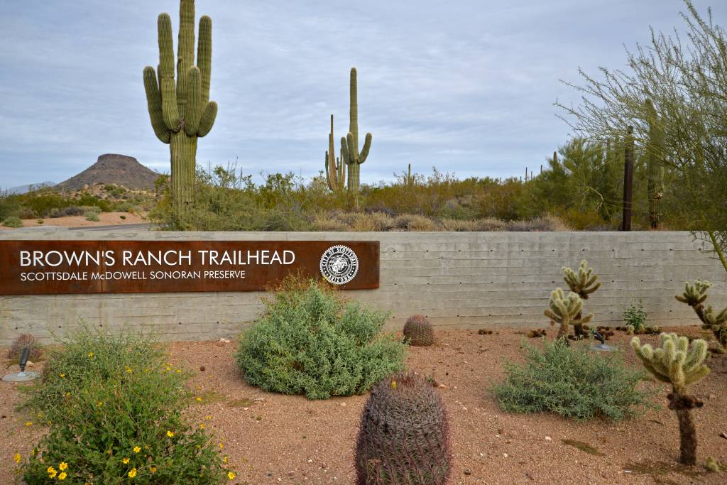 Browns Ranch Trailhead