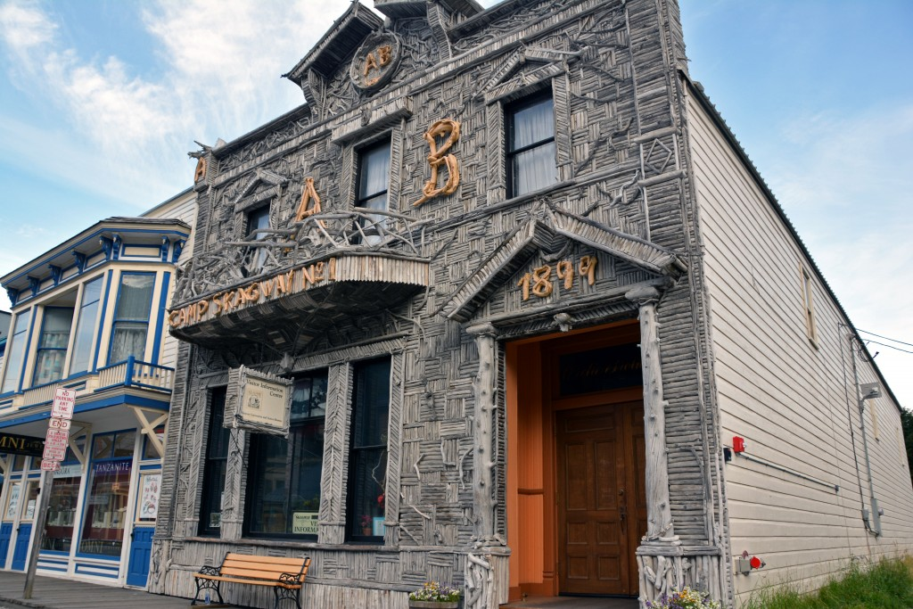 Arctic Brotherhood Hall Skagway Alaska
