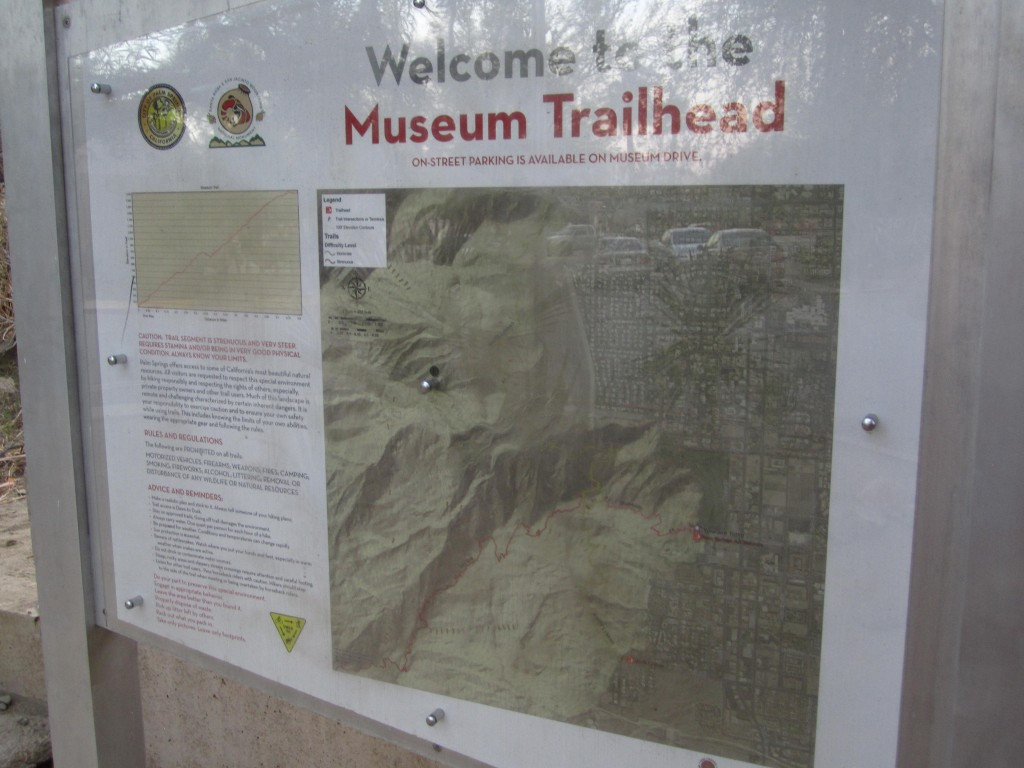 Museum Trailhead Palm Springs California