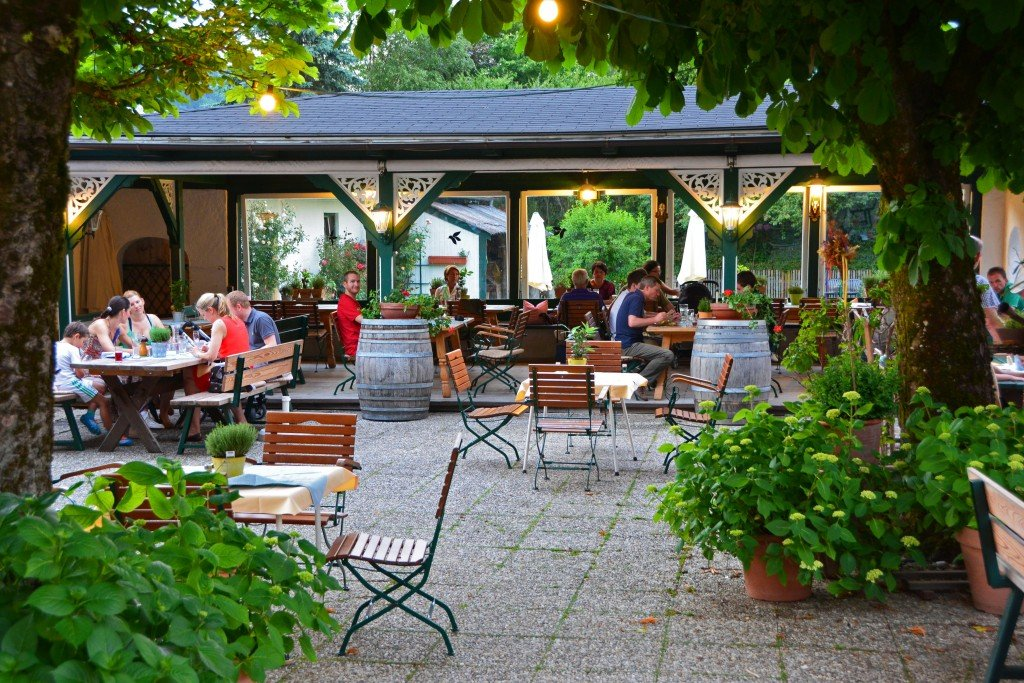 St Gilgen Austria restaurant