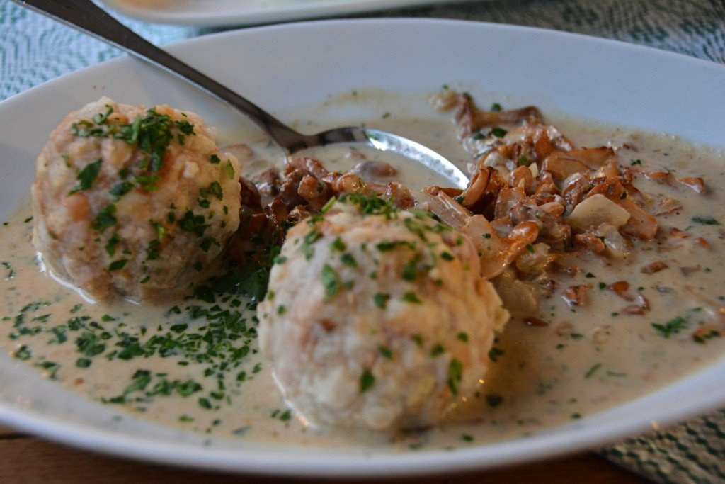 Austrian dumplings