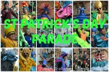 St Patrick's Day Parade in Dublin Ireland