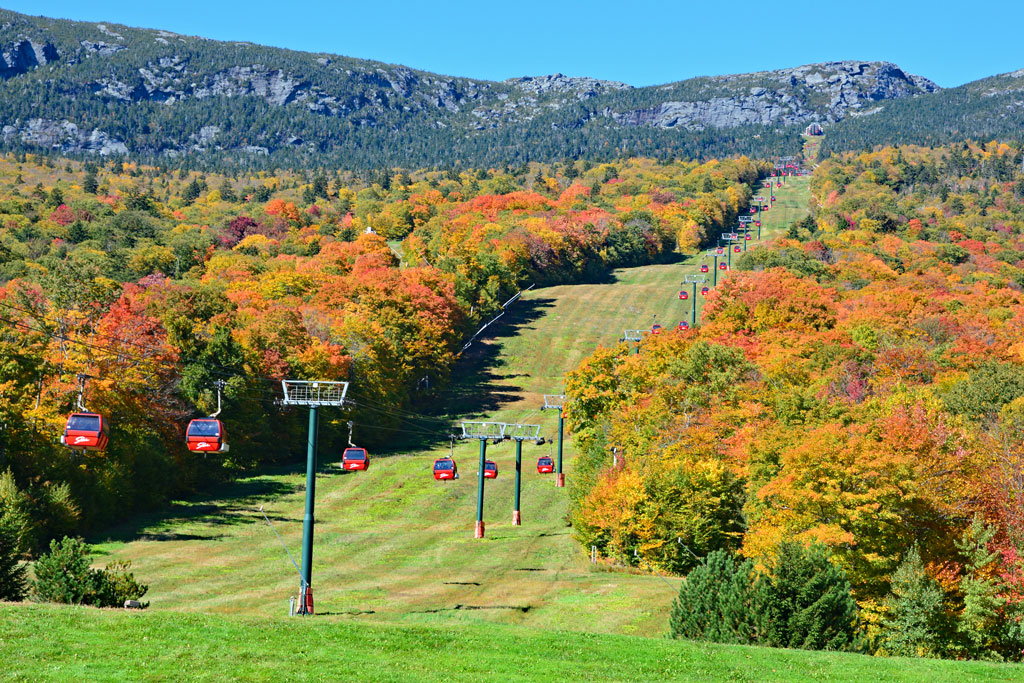 Stowe Mountain Resort cable car