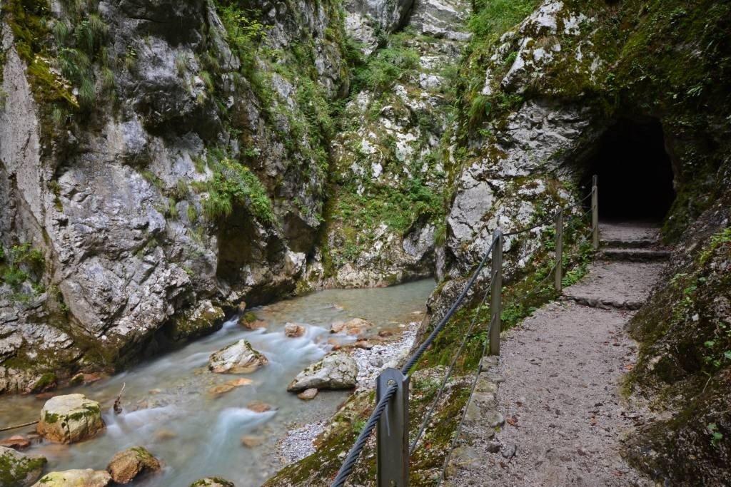 Tolmin Gorge Cave
